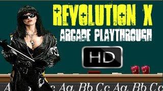Revolution X (Arcade) -  Playthrough HD