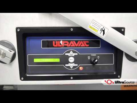 UltraSource Ultravac 2100 Double Chamber Vacuum Packaging Machine
