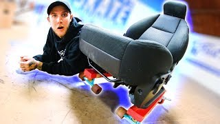 1990s GMC CHAIR DOWN THE 5 STAIR | YOU MAKE IT WE SKATE IT EP. 218