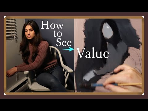 The Daily Yupari | LEARNING TO SEE VALUE - Painting A Value Study