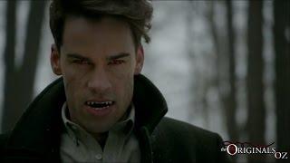 The Originals 3x17 Lucien Fights Elijah Finn (Finn gets Bitten)