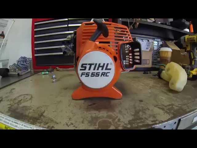 Lawn Care - Stihl FS55 RC clutch drum, clutch, and flywheel