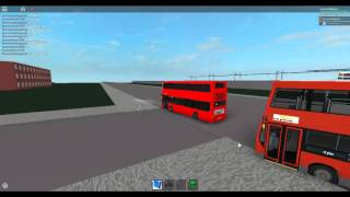 Roblox London Hackney & Limehouse bus Simulator Optare Olympus (Scania) CT Plus Route 388 Extensions