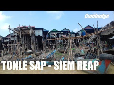 SIEM REAP et le TONLE SAP, les portes d'Angkor et les villages flottants au CAMBODGE #1