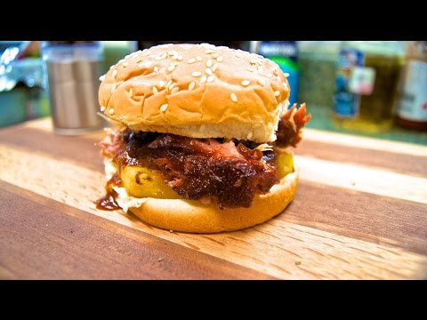 Hawaiian Pulled Pork Sandwich ~ Tappecue Review - YouTube