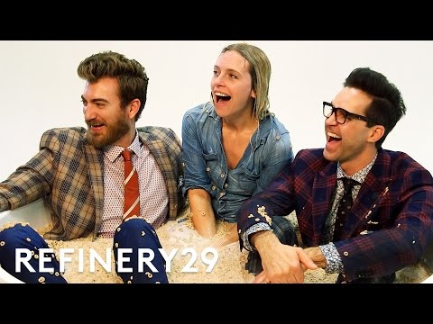 Refinery29 Joined Rhett & Link Shoot Cover Of Their New Book | Behind-The-Scenes | Refinery29