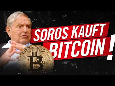 Bitcoin: Milliardär George Soros kauft!