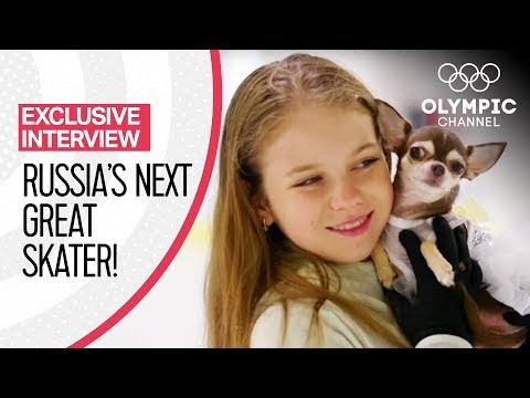 Figure Skating's Upcoming Star Alexandra Trusova Aims At Olympic Glory | Exclusive Interview