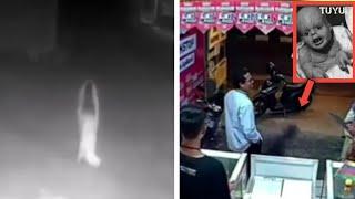 5 Video Penampakan hantu yang berhasil terekam kamera viral di media sosial, TUYUL