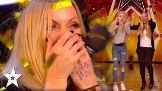 Mother & Daughter Claim Amanda's GOLDEN BUZZER | Got Talent Global