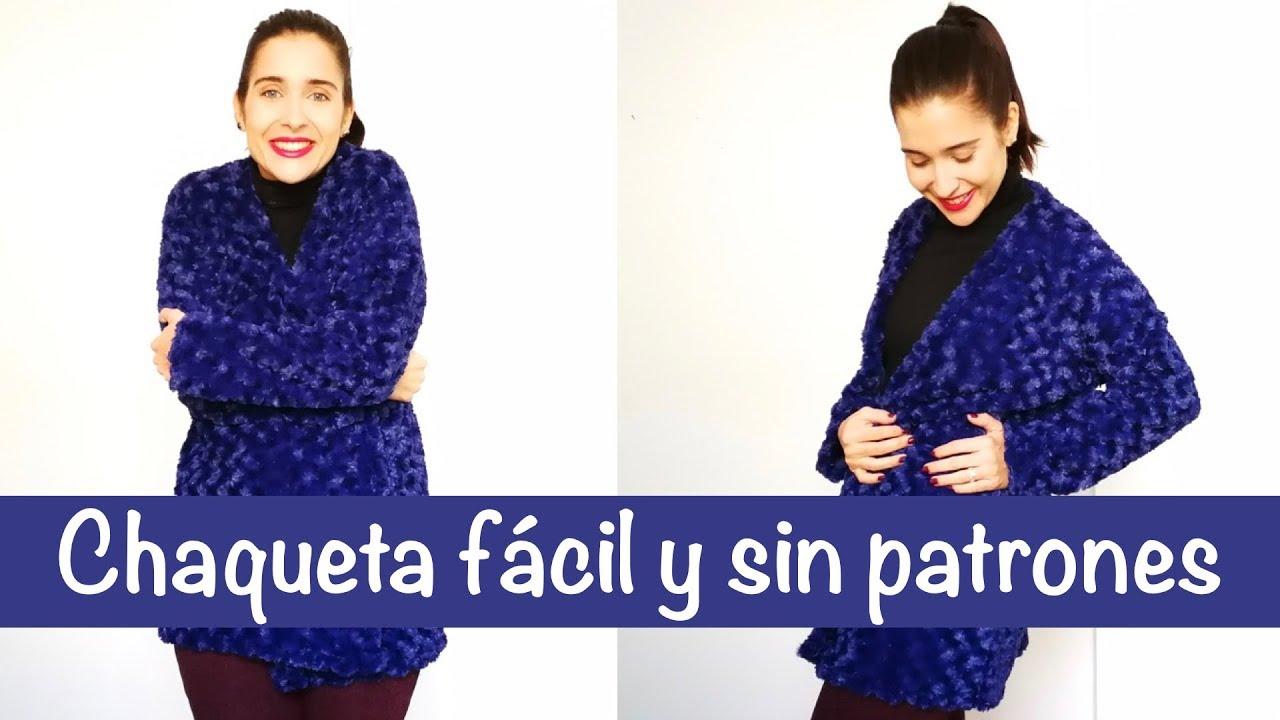 Cómo hacer una chaqueta fácil y sin patrones | DIY - YouTube
