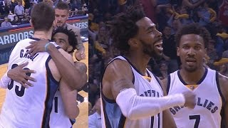 Marc Gasol Game Winner in Overtime! Clutch Tug of War! Spurs Grizzlies Game 4