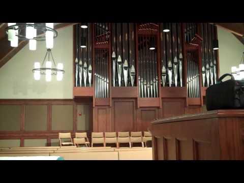 """Improvisation on """"Forest Green"""" - Schantz pipe organ"""