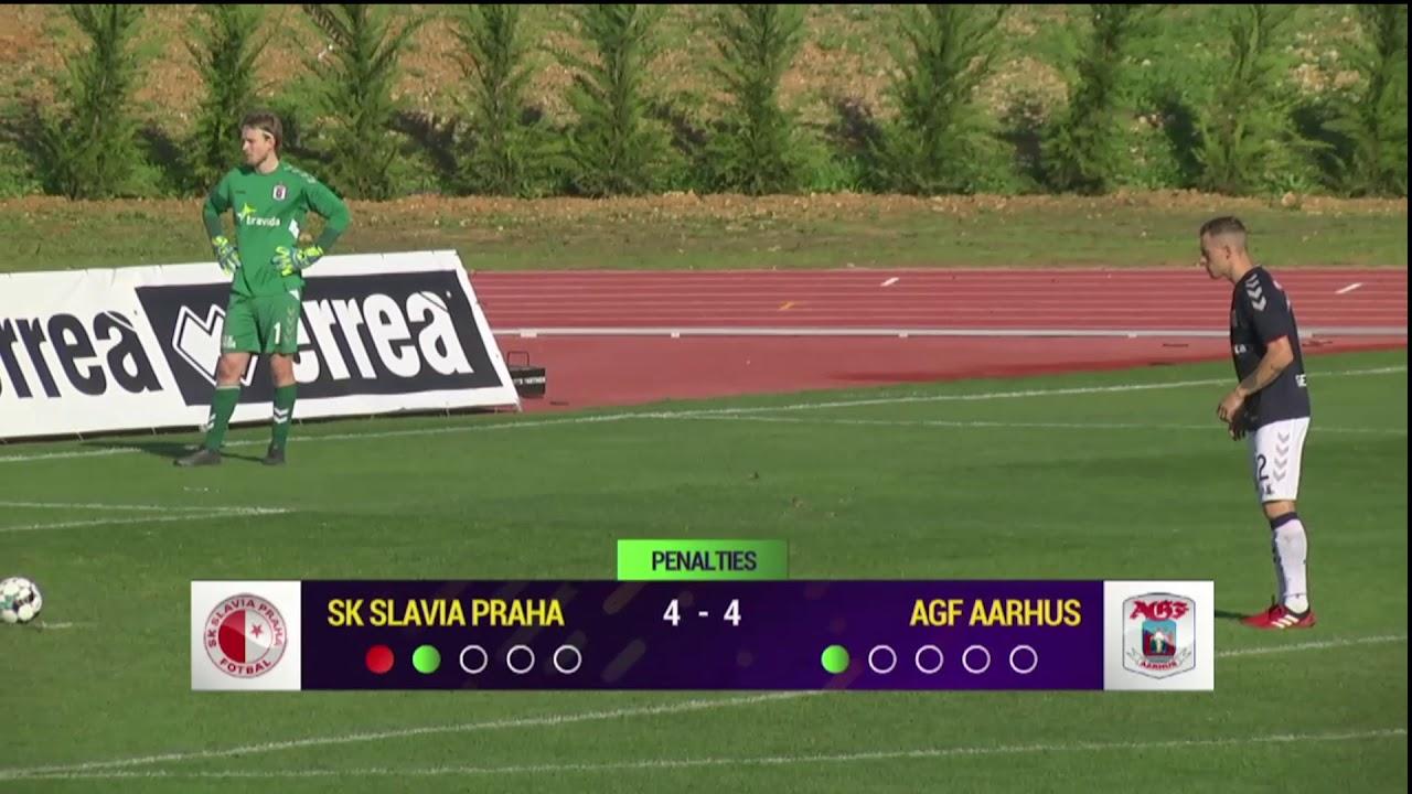 Highlights SK Slavia Praha Vs AGF YouTube