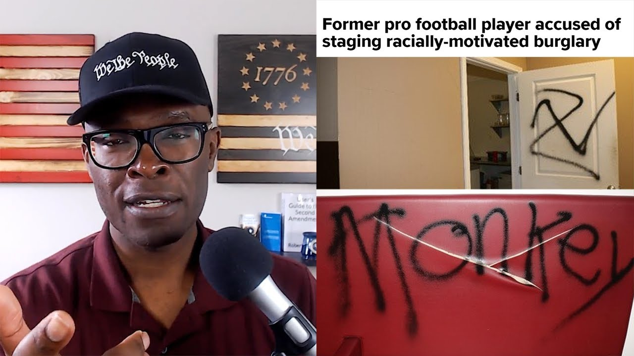 ABL Former NFL Player Allegedly Stages FAKE HATE CRIME In Atlanta!