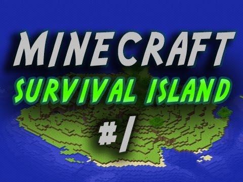 Minecraft Survival Island - Ultimate Survival Islands! w/Mitch, Jerome & Charlie Part 1 - Dyslexia