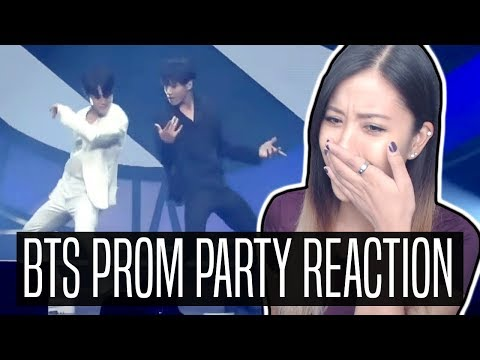 BTS PROM PARTY REACTION | 땡 DDENG, BLACK OR WHITE & EVEN IF I DIE IT'S YOU PERFORMANCES #셀카트윗