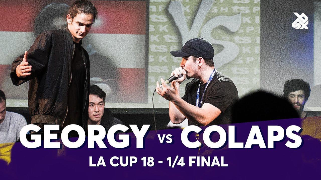 GEORGY vs COLAPS | La Cup WORLDWIDE 2018 | 1/4 Final