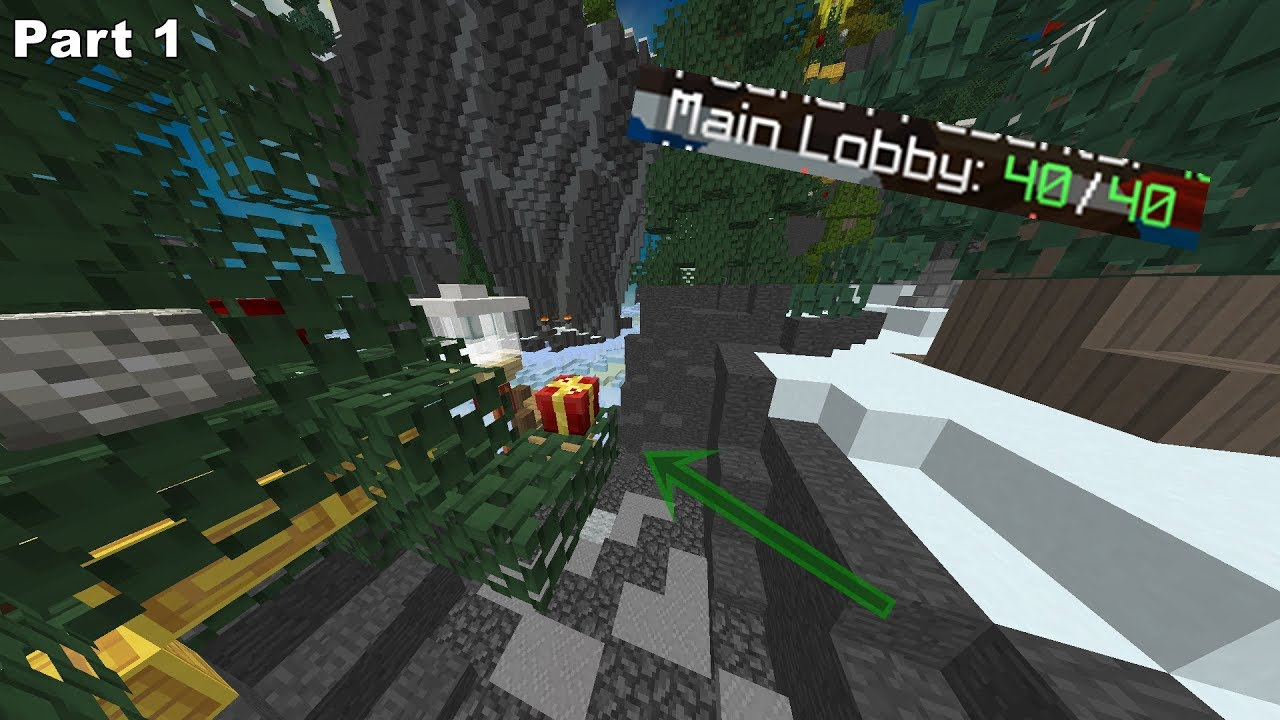 ALL PRESENT LOCATIONS [40/40] (2017 Hypixel Main Lobby Christmas Quest)  PART 1
