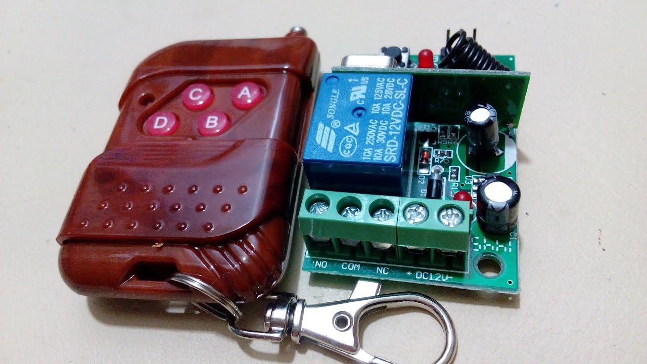 relais telecommande