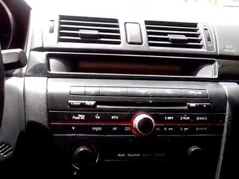 mazda 3 interior 2004 dynamic youtube. Black Bedroom Furniture Sets. Home Design Ideas