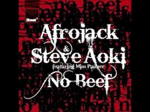 Afrojack & Steve Aoki  No Beef Ft Miss Palmer LYRICS