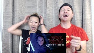 The Last Jedi Behind the Scene Featurette - Reaction & Review