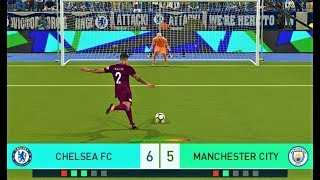 Chelsea vs Manchester City   Penalty Shootout 2018   PES 2018 Gameplay HD