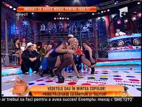 Sexy Twister la Un Show Pctos! Vedetele au fost surprinse în ipostaze incendiare