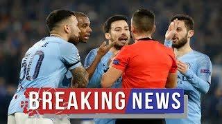 Man City news: VAR shambles Man City vs Schalke referee could NOT use technology in first half