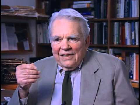 Andy Rooney discusses