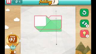 let's fold Lets Fold origami level 11  Walkthrough