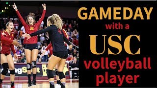 A DAY IN THE LIFE: USC VOLLEYBALL GAMEDAY