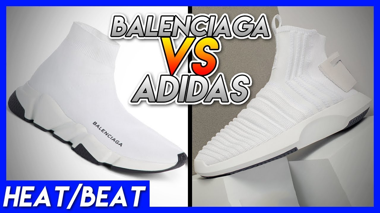 Heat RIPPING Or Beat ADIDAS IS RIPPING Heat OFF THE BALENCIAGA SPEED RACER f46bd2