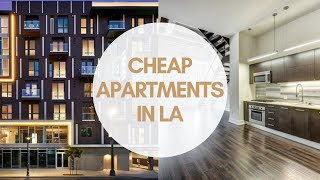 How To Find Cheap Housing In La!