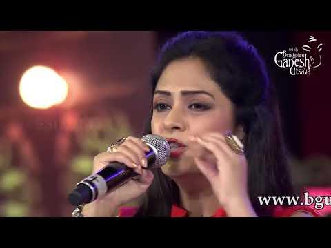 """""""Chura Liya Hai Tumne Jo Dil Ko"""" by Anuradha Gosh at 55th Bengaluru Ganesh Utsava"""