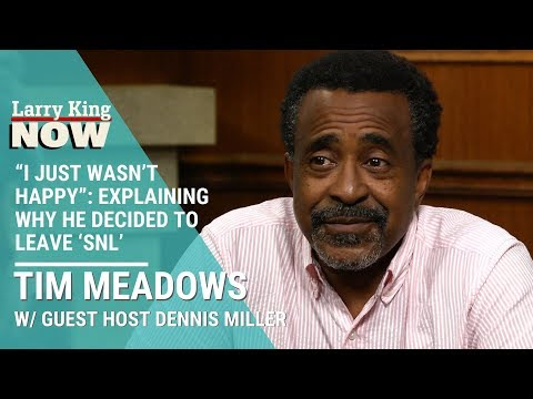 """I Just Wasn't Happy"": Tim Meadows Explains Why He Decided To Leave"