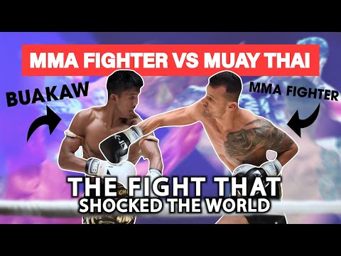 Kundschaft zuerst Rabatt bester Platz MMA Fighter vs. Muay Thai Legend: High Risk High Reward