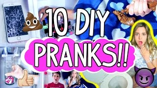 10 EPIC Pranks You NEED to Try!! | Sibling Prank Wars!!