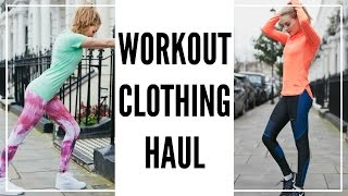 Workout Clothing Haul & Try On