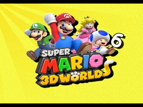 Super Mario 3D World-Part 6: Fat Plumber-man and Friends | Player's Guide