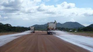 Surama Guyana Gravel Airstrip Upgrade