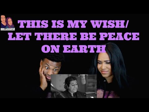 Voctave- This Is My Wish/Let There Be Peace On Earth| REACTION