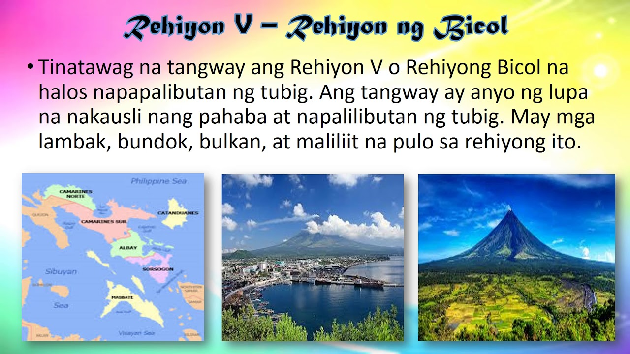 Ang Topograpiya ng Iba't Ibang Rehiyon ng Bansa