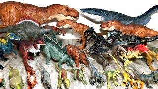 MY WHOLE COLLECTION OF JURASSIC WORLD FALLEN KINGDOM DINOSAUR TOYS & ACTION FIGURES