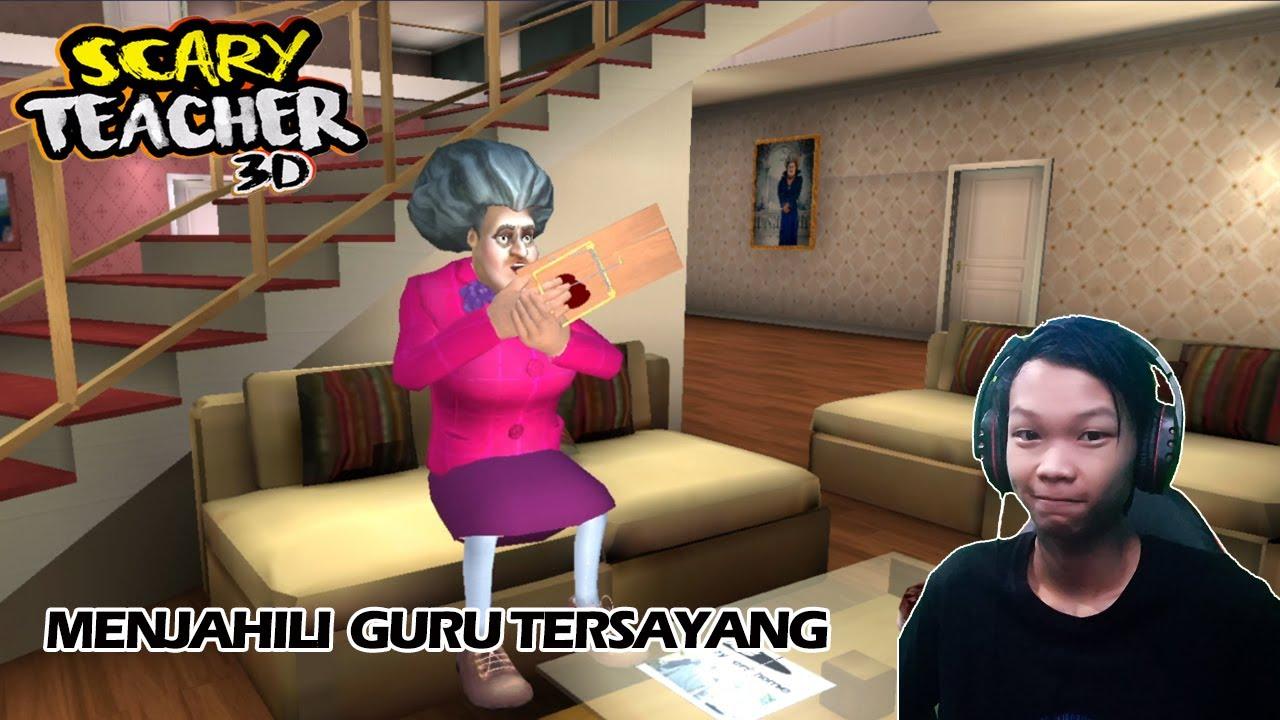 Pagi-Pagi Bermain Sama Guru - Scary Teacher 3D - Indonesia