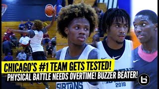 Duke Commit, Chicago's Top HS Team Get Tested! Physical Overtime Battle! Buzzer Beater!