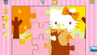 Hello Kitty Jigsaw Puzzles Educational Education Android İos Free Game GAMEPLAY VİDEO
