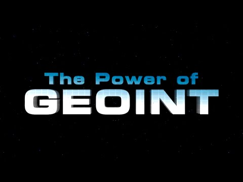 NGA Power of GEOINT video w/CC