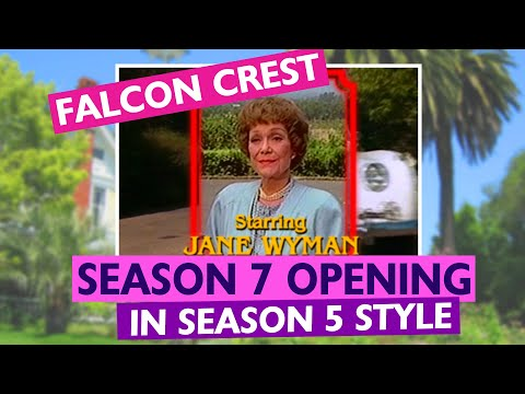 FALCON CREST Season 7 In Season 5 Style